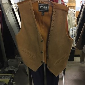 Other - Leather vest
